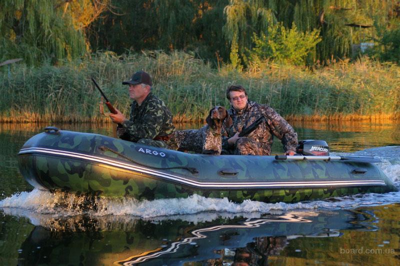 охота на море с лодки
