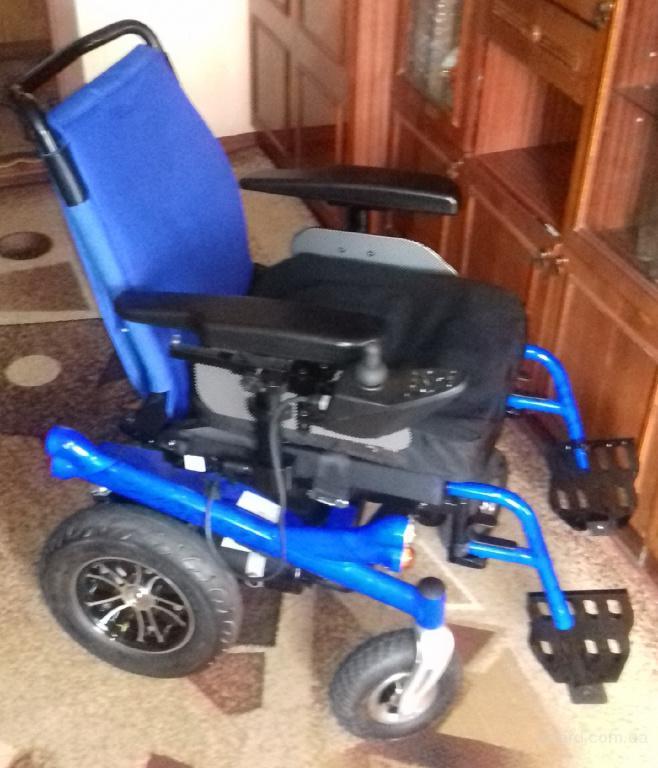 Инвалидная коляска с электроприводом Invacare Power 9000 из Германии