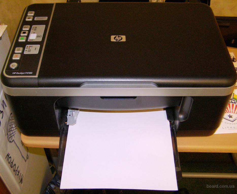 инструкция для мфу Hp Deskjet F4180 - фото 5