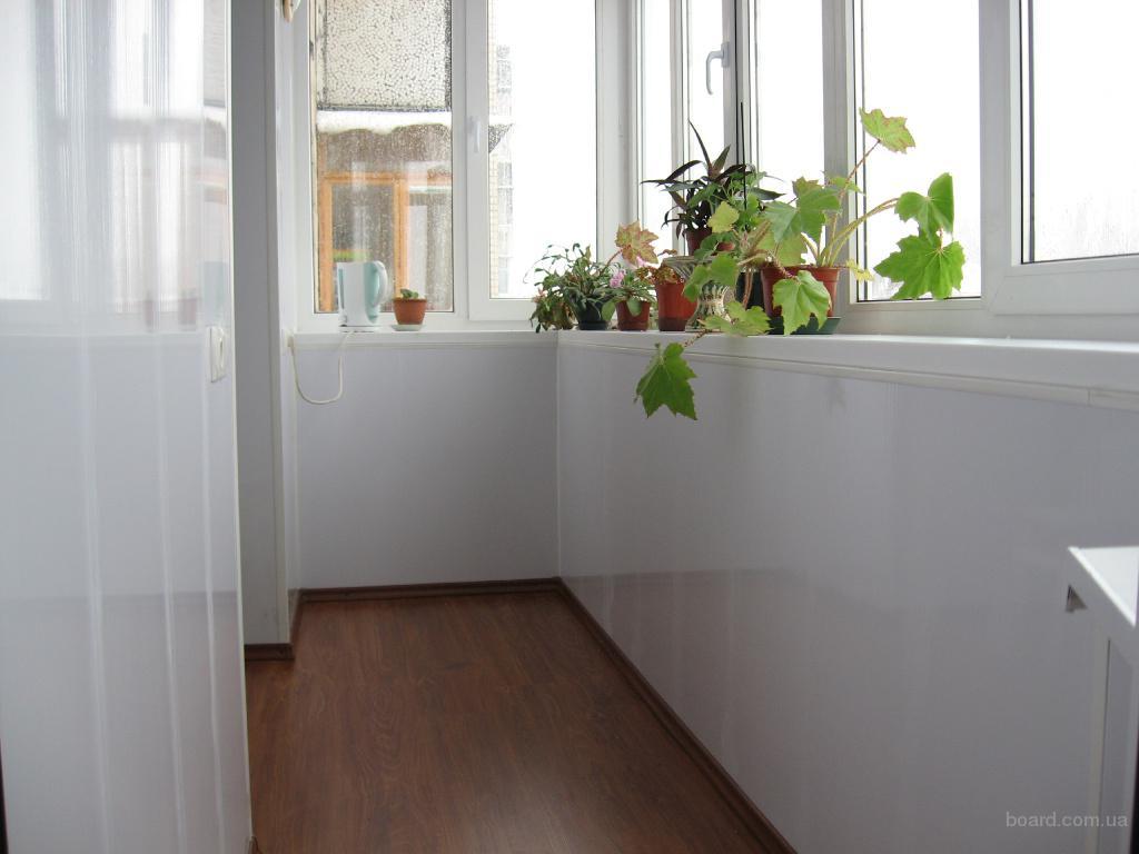 Ремонт балконов под ключ с мебелью.