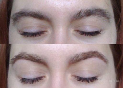 Визуальное изменение овала лица при помощи бровей.  Окрашивание бровей и ресниц.Консультация бесплатная.