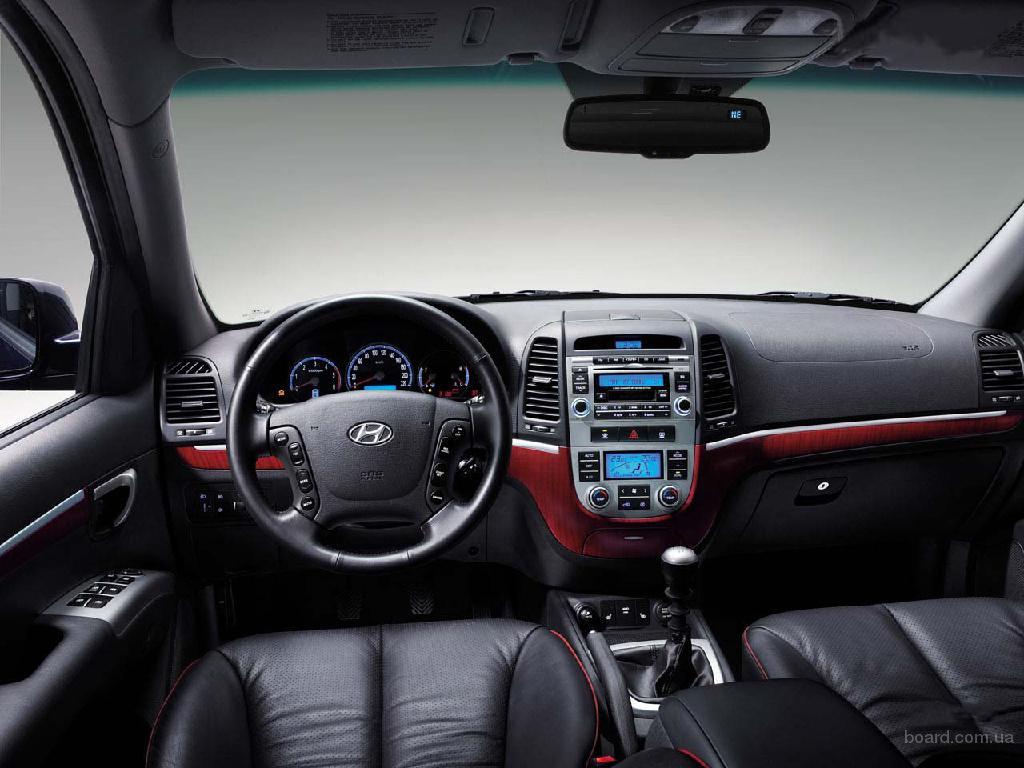 Hyundai Santa Fe интерьер.