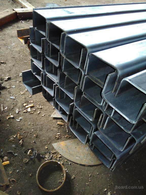 Продам швеллер гнутый 2,0 - 8,0 мм. Длина от 2 до 6 метров
