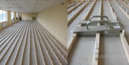 Регулируемые деревянные полы для квартиры и дома.  Регулируемый по высоте пол.