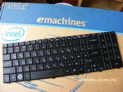 Клавиатура Acer Emachines E525 E625 E627 E725