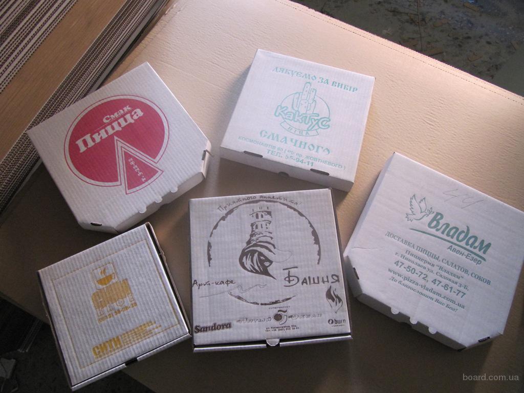 проиводство коробки под пиццу