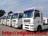 Автостекло триплекс, лобовое стекло для грузовиков МАЗ