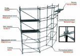 строительные модульные леса Флексилок клино-дисковое соединение