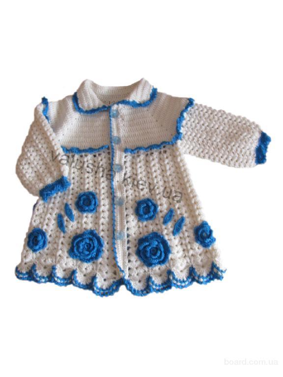 Ручные вязанья для детей 358