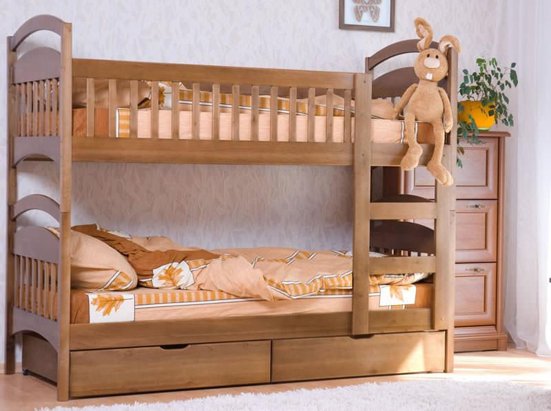 Кровать Карина 190х80см 2700гр.сосна.