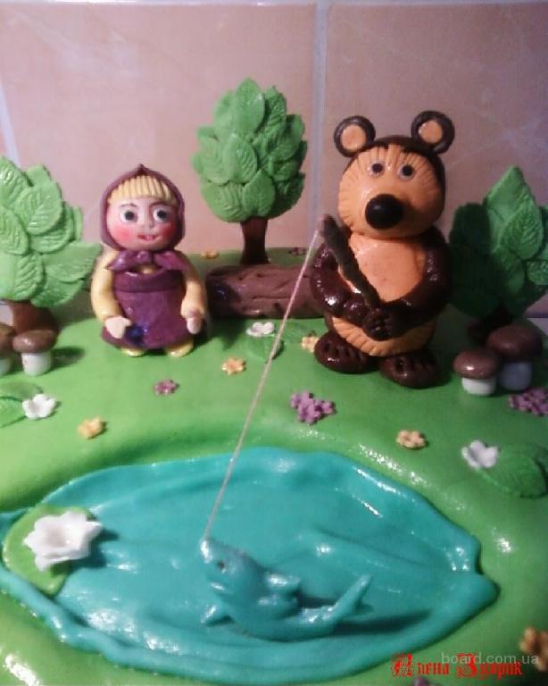 ...в виде медведя /b- b Торты/b, пироги.