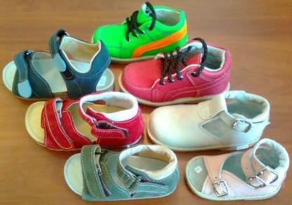 Ортопедические сандалеты детские