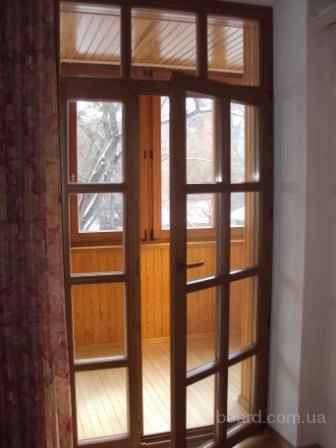 Дубовые окна, окна из дуба со стеклопакетом. производство и .