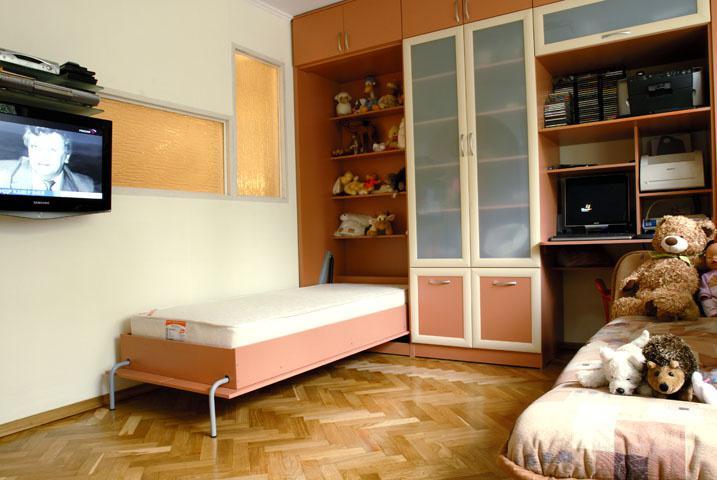 Кровать трансформер встроенную  соната