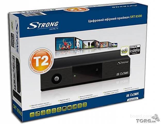 Strong SRT 8500 - китайского производства ресивер для приема цифрового эфирного телевидения стандарта...