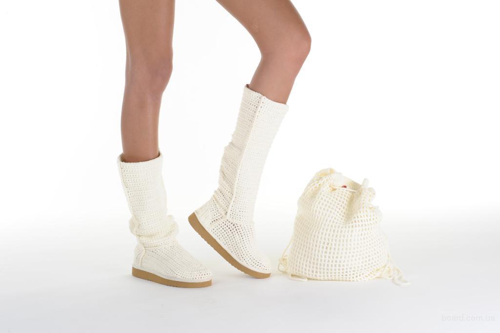 """Где купить Обувь в Украине?  Фото 1 из объявления  """"Вязаные летние сапоги бренда LIVS."""