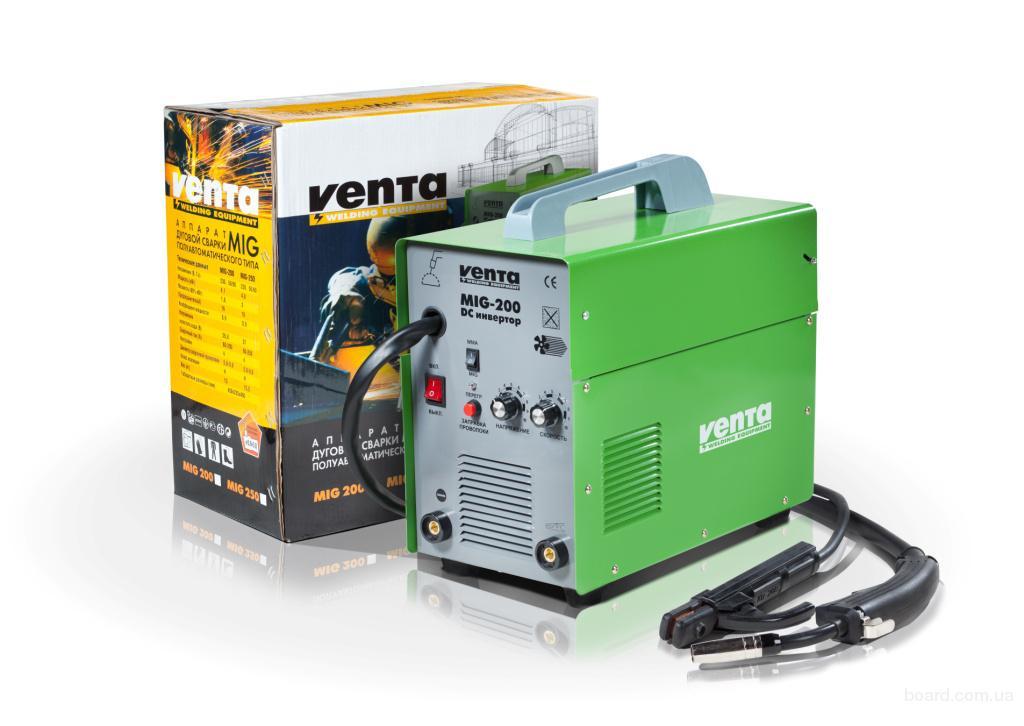 Сварочный инверторный полуавтомат Venta MIG-250D - 2170 грн.