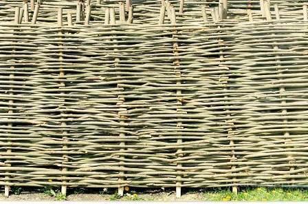Забор из камыша мастер класс