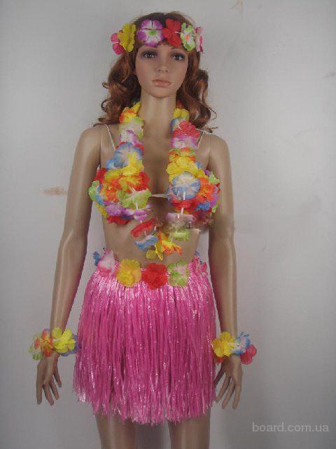 Гавайская вечеринка украшения своими руками