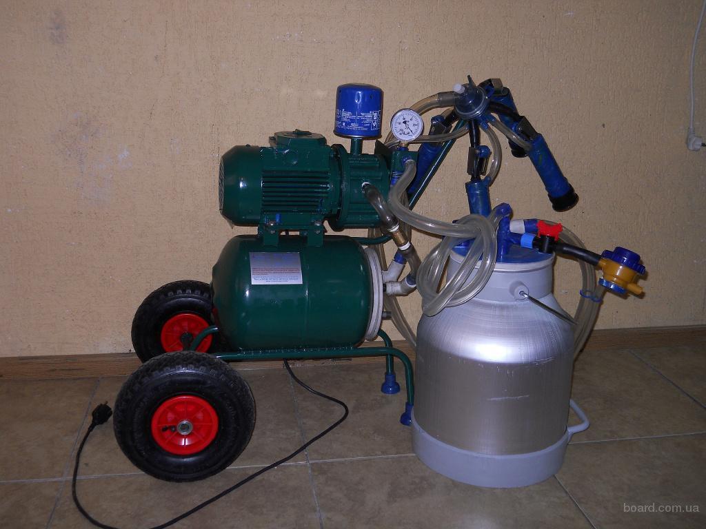 Акция, доильный аппарат до 10-20 коров за 5900грн. в подарок комплект сосковой резины