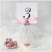 Карточки с номером стола на вашу свадьбу