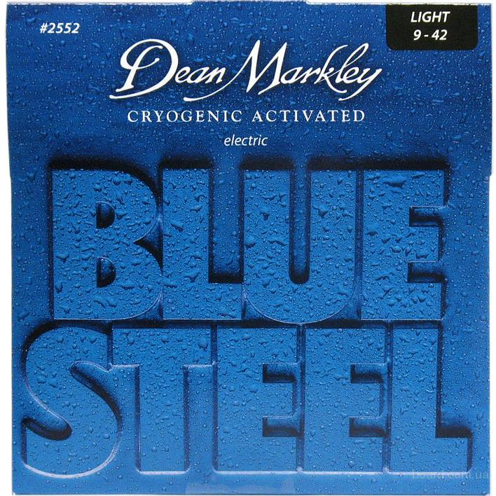 Струны Dean Markley 2552 Blue Steel Light 9-42 Вся Украина