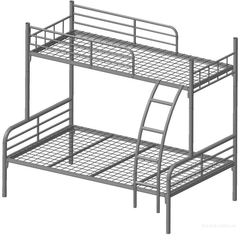 Своими руками металлическая двухъярусная кровать
