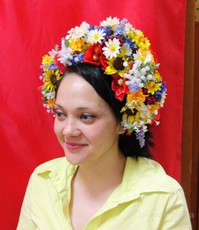 Украинский венок под заказ.
