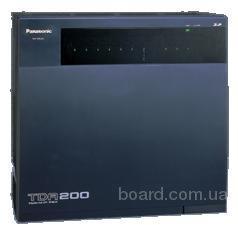 мини-АТС Panasonic kx-tda200 базовый блок б.у. При условии нашей установки, гарантия 1 год