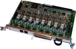 Panasonic KX-TDA0181б.у.. Плата 16 внешних аналоговых (СО) линий (поддерживает СРС и переполюсовку)