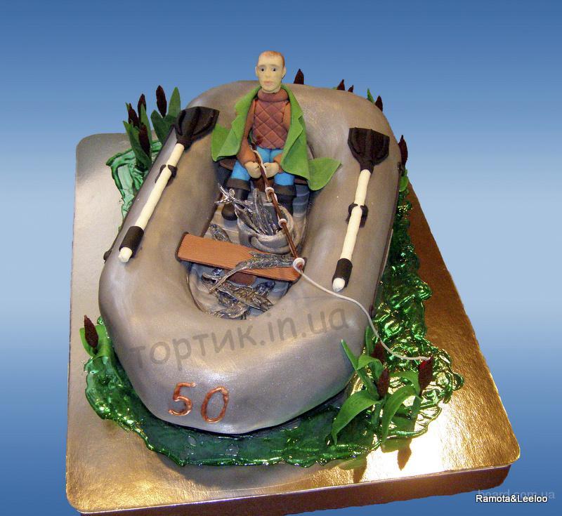 Фото тортов для рыбака