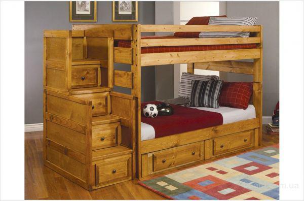 Кровать Саванна двухъярусная