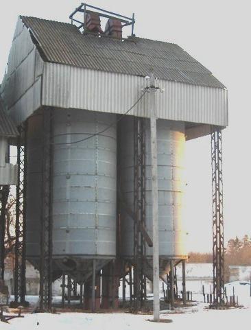 25. Вентилируемые  бункера  ОБВ-40 (ОБВ-160)