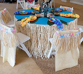Оформление вечеринок в гавайском стиле: - гавайские венки, леи на шею, - гавайские юбки, прокат, продажа...