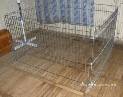 Домашний загон/вольер для щенков или котят 100х100хh60 см