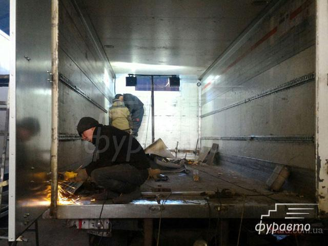 Ремонт, установка или переоборудование фургонов от компании ФурАвто