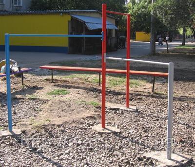Детский металлическая спортивная площадка карусель