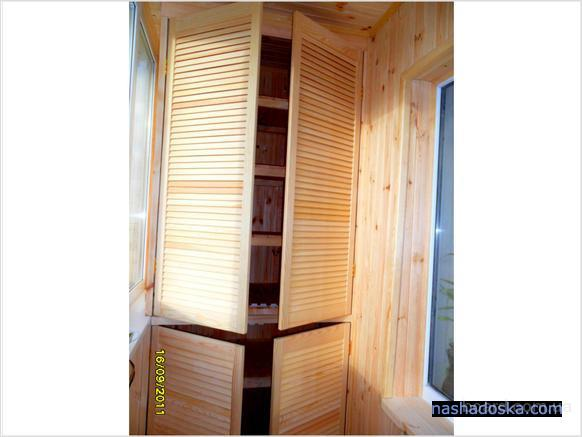 Окна ровно встроенный шкаф на лоджию. - как выбрать окна - к.