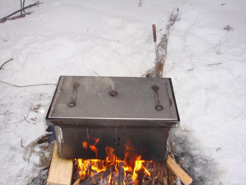 Коптильни для горячего копчения своими руками фото 191
