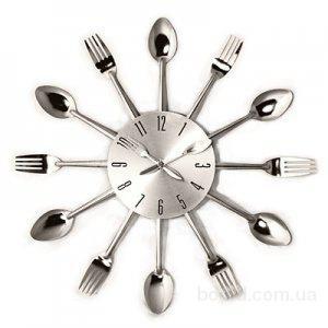 Часы «Ложки-Вилки»