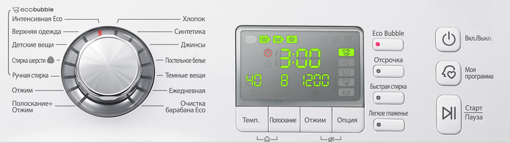 Ремонт платы управления стиральной машины в Черкассах
