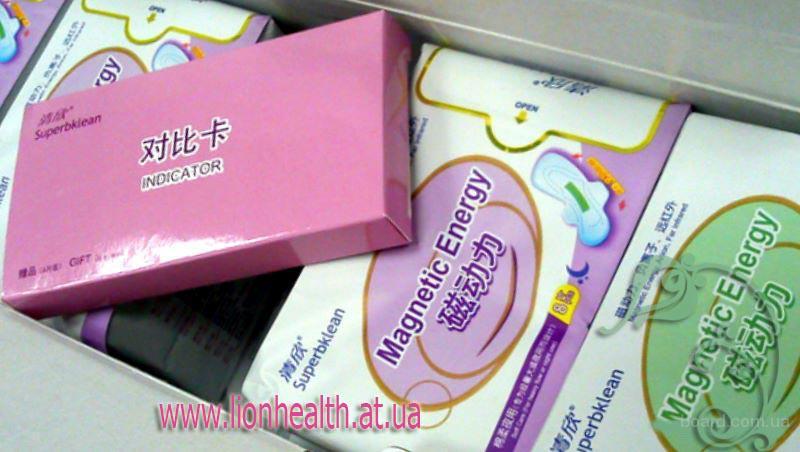 Прокладки Лечебные Анион+Магнитная Прослойка,  30грн (ежедневная упаковка) 30шт