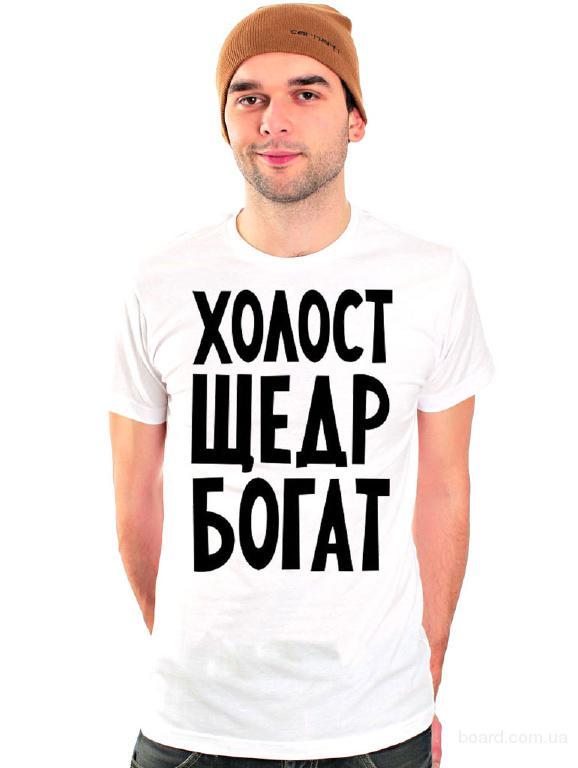 печать ан футболках