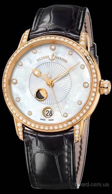 Часы из Швейцарии в золотой оправе