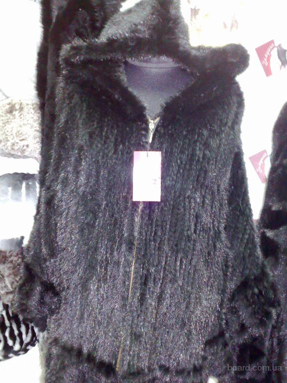 Красивое норковое пончо. в Полтаве - изображение 2.