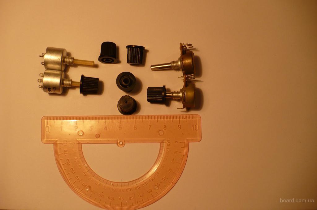 Ручки на переменные резисторы: