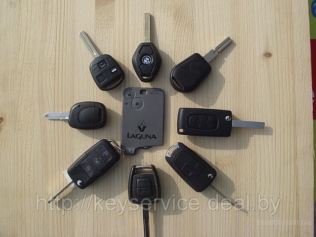 Изготовление чип ключей для автомобилей цена. запчасти американских