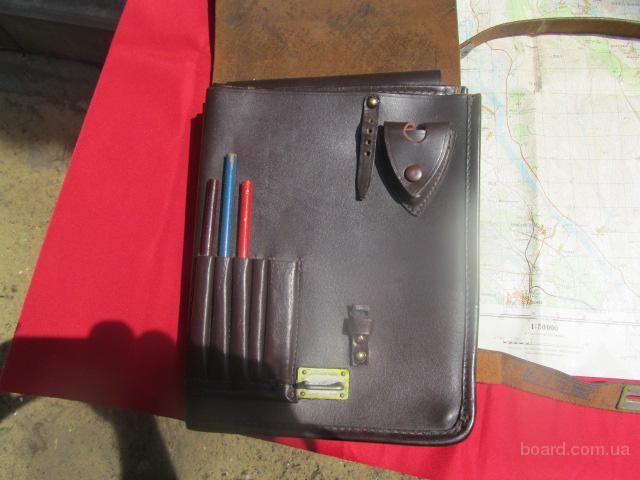 Связаться с автором объявления.  Продам офицерскую сумку планшет.