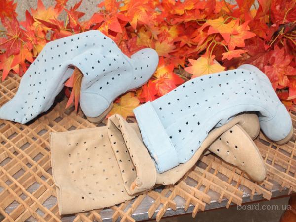 Обувь Женская Летние Сапоги