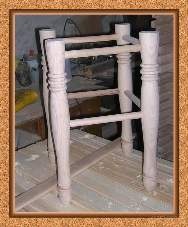 Красивые ножки для стула своими руками 31